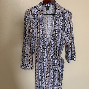 Lane Bryant Beautiful Print Wrap Dress